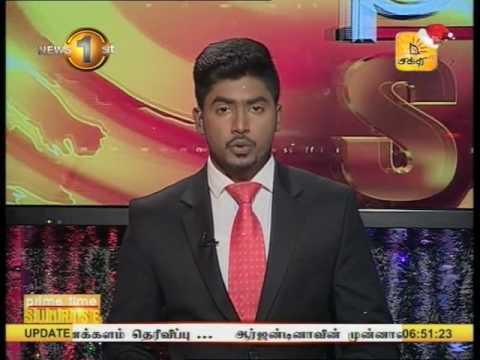 News1st Prime Time News Sunrise Shakthi TV 28th December 2016