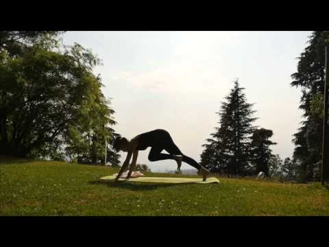 Sun Salutations - after the rain comes Surya Namaskara yoga