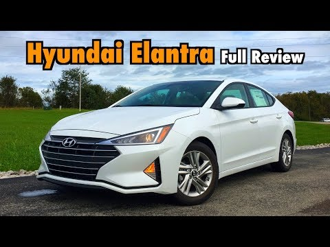 2019 Hyundai Elantra: FULL REVIEW + DRIVE: Hyundai's Best-Seller Gets Angular!
