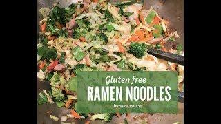 Easy Ramen Stir Fry (Gluten Free)