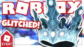 [EVENT] How to get the ICE CROWN by using Glitches | Roblox Mountaineers