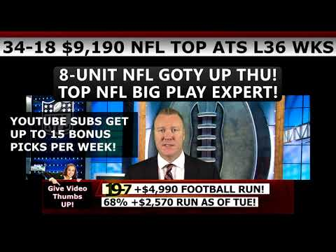 Free NFL Picks – Expert NFL Predictions Against the Spread Week 2 9/17/2017