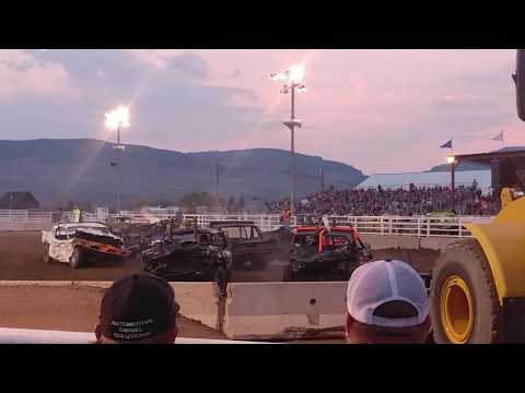 Kremmling demolition derby 2018