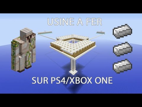 IRON FOUNDRY - USINE A FER SUR MINECRFAT PS4/XBOX ONE (Minecraft Console Edition)