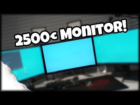 Monitor für 2500,-€ ?!? 4k 144hz HDR G-Sync | ASUS ROG SWIFT PG27UQ 4K 144Hz
