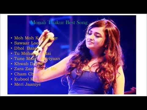 38 Best of Monali Thakur song 2017YouTube