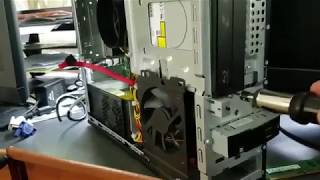 How to Remove the HDD from an HP Pavilion Slimline S5657C