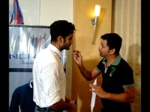 Model Neeraj Surana with Rj Animesh  on 919 Friends Fm