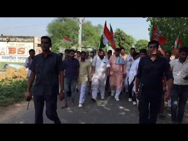 Gram Pad Yatra - Narain Garh - Shri Nayab Saini - MLA Naraian Garh
