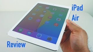 iPad Air Review | 16GB White and Silver