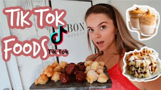 TRYING VIRAL TIK TOK RECIPES (pt. 2) ... you NEED to try these!