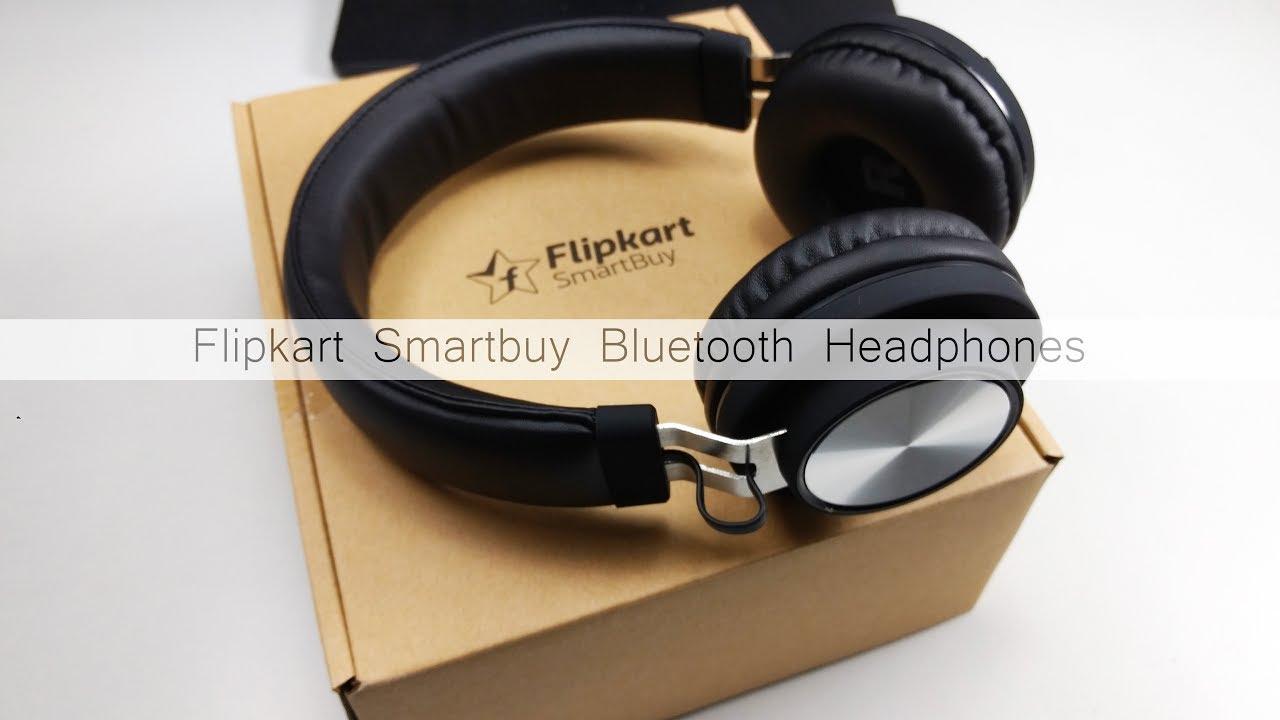 e34d6245aae Flipkart Smartbuy Bluetooth Headphones Unboxing - YouTube