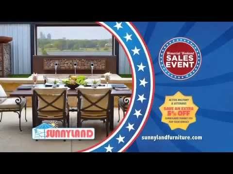 Memorial Day Outdoor Furniture Sale At Sunnyland Patio Furniture In Dallas