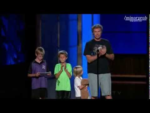 Thumbnail: Will Ferrell showed up with his kids at Emmys 2013 (Korean sub)