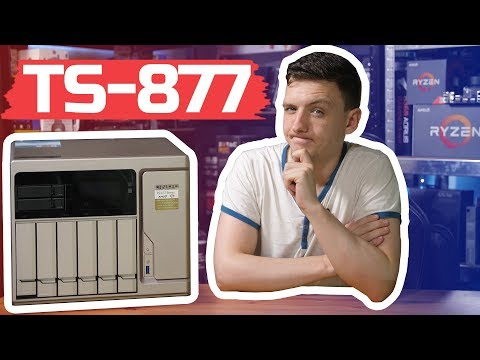 RYZEN Powered NAS | QNAP TS-877 Review