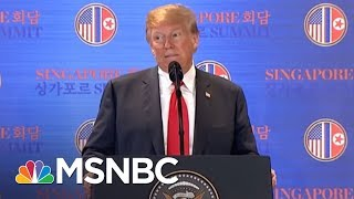 the big takeaways from president donald trumps news conference msnbc
