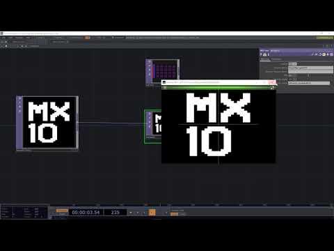 MX10 TouchDesigner Tutorial 01 - NDI Switcher