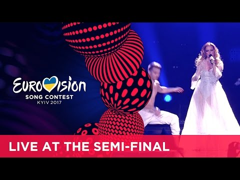 Tijana Bogićević - In Too Deep (Serbia) LIVE at the second Semi-Final