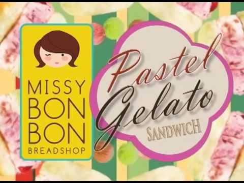 Missy BonBon Pastel-Gelato Sandwich Advert by The Launchpad Magazine