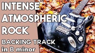Intense Atmospheric Rock Backing track in Bm
