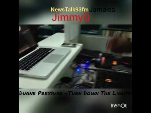 DUANE PRESSURE being featured by DJ JIMMY Q