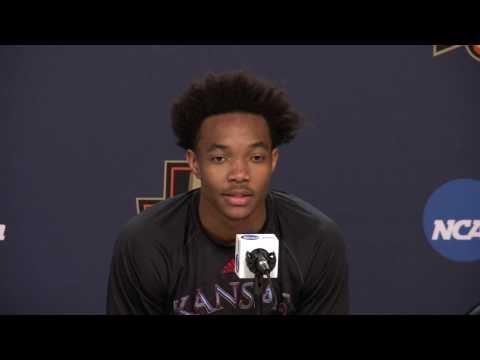 Graham & Lucas NCAA Sweet 16 Press Conference // Kansas Basketball // 3.22.2017