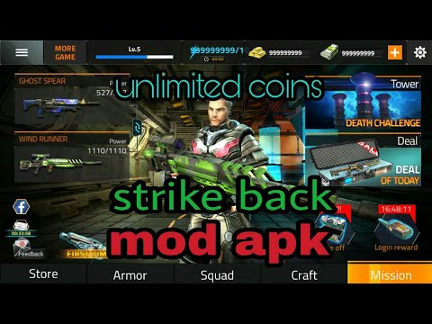 Strike Back Elite Force Mod Apk(unlimited Coins) And Gameplay