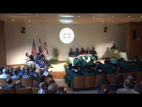 April 2016 Olin Executive MBA Diploma & Awards Ceremony
