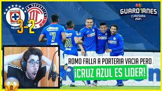 🔴 REACCIONES a CRUZ AZUL vs TOLUCA | JORNADA 7 GUARDIANES 2021