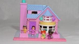 Polly Pocket Bay Window Country House - Pollyville Mansion - Original Bluebird Toys 940291