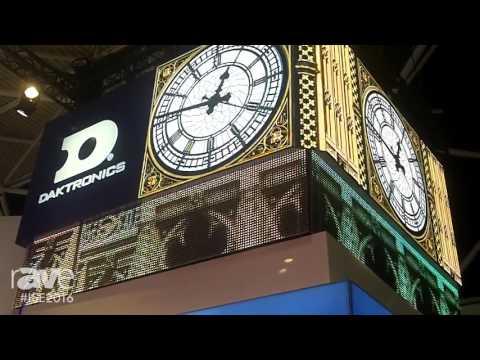 ISE 2016: Daktronics Showcases 1.9mm UHD Display