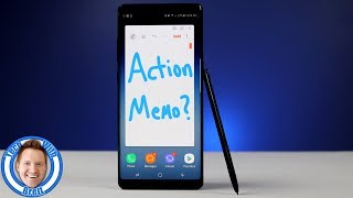 Where is Action Memo on the Note 8?