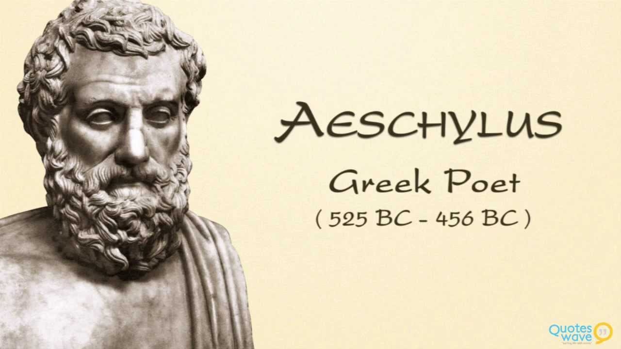 the life and works of aeschylus If little is known of his early life, aeschylus certainly left us a distinguished  where you can visit the ancient theatre where the works of aeschylus were.