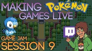 Making Pokemon Games Live (Game Jam Session 9)