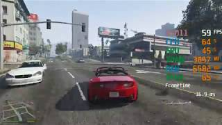 GeForce RTX 2060 -- AMD FX-8320 -- Grand Theft Auto V GTA V FPS Test