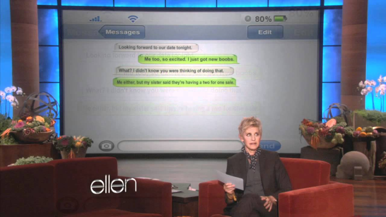 Texts From Your Ex Ellen