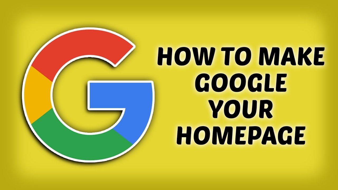how to change homepage on mac google chrome