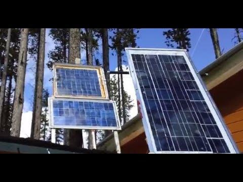 Generating Some Springtime Solar Power