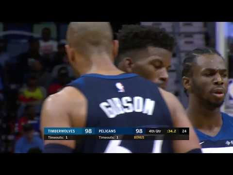 Minnesota Timberwolves at New Orleans Pelicans: November 1, 2017