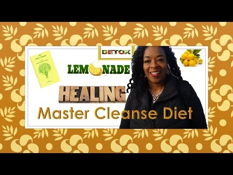 Master Cleanse Diet- My Spring Body Cleaning Starting Tomorrow