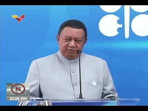 Secretario General de la OPEP está en Venezuela: Declara junto a Tareck El Aissami