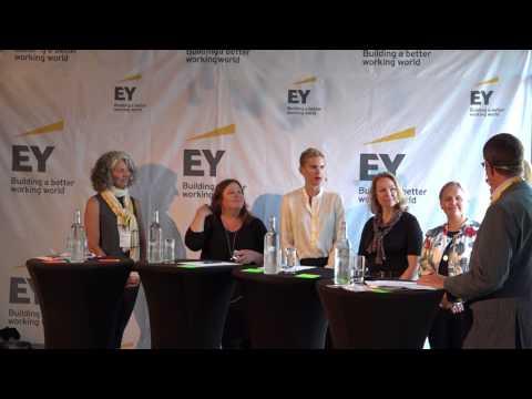 EY i Almedalen 2017 - Sveriges starkaste kvinnor inom fintech tycker till