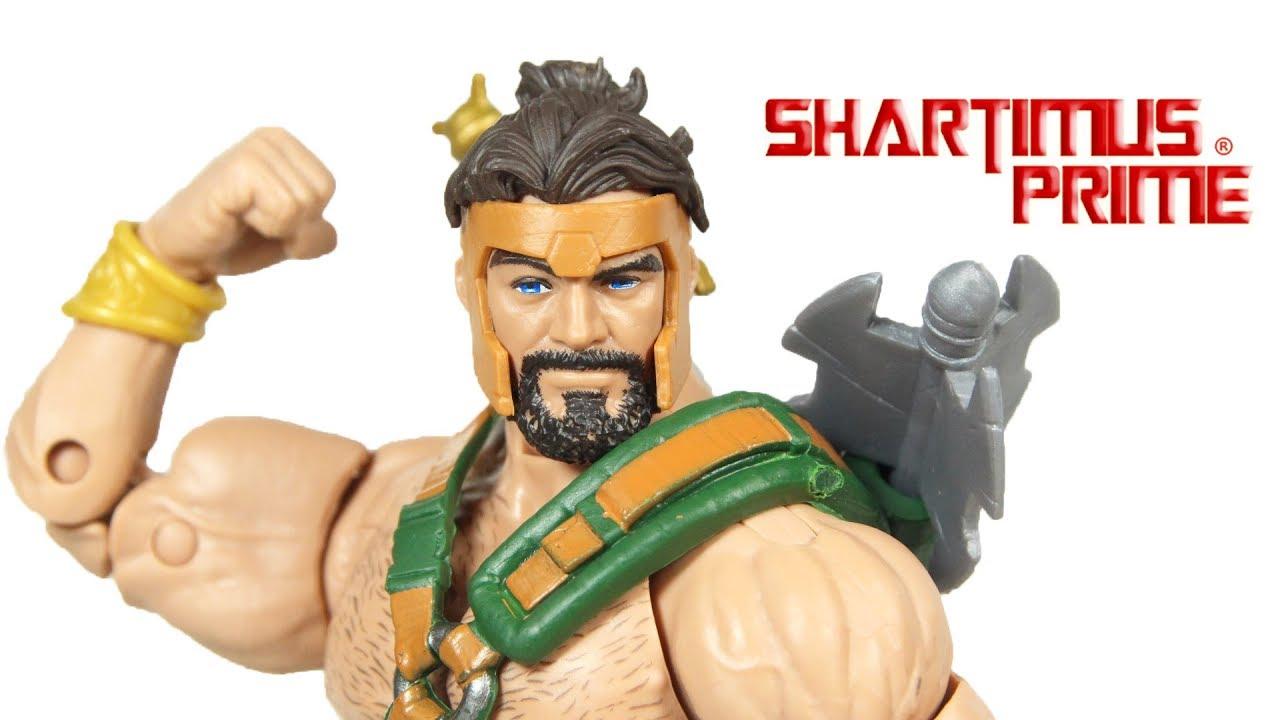 Marvel Legends Hercules Avengers Endgame Armored Thanos BAF Wave Figure  Review