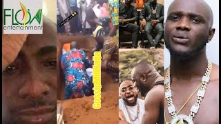 SO SAD TEARS AS DAVIDO39S FRIEND OBAMA DMW HAS BEEN BURIED IN EPE