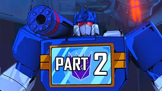 Transformers Devastation Walkthrough Part 2 - The Proudstar (PS4 Gameplay Let