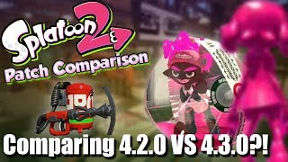 Splatoon 2 - Patch Differences & Thoughts of 4.2.0 vs 4.3.0?! (Sting Ray Dies, Ballers Arise!)