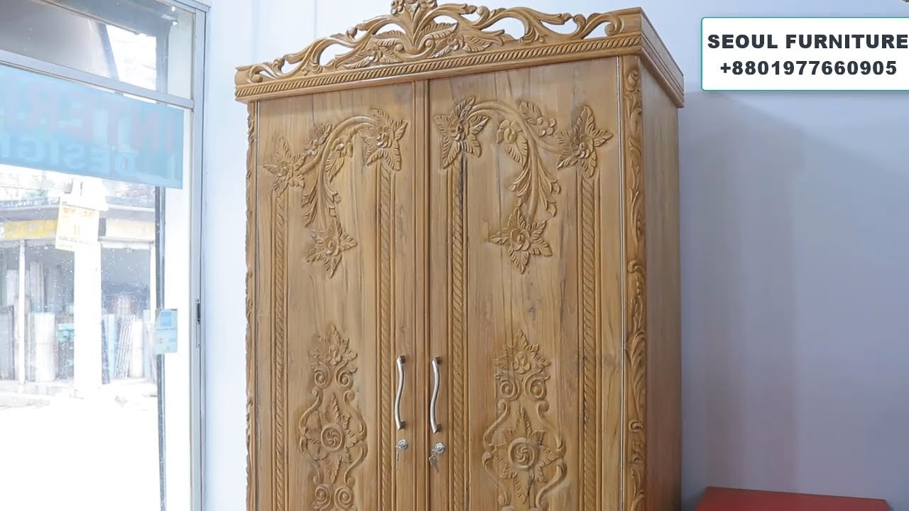 Latest Wooden Almirah Design Wardrobe Collection Youtube