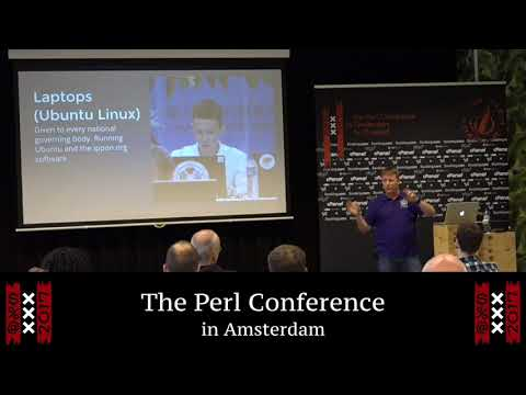 """Perl and Open Source in Olympic Judo"" - Lance Wicks"