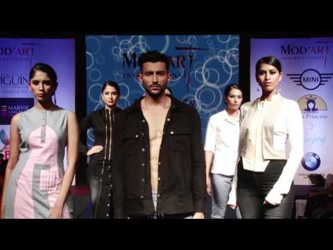 Mod'Art International Mumbai Fashion Show 2016   Part 4