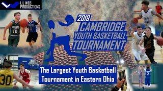 2019 Cambridge Youth Basketball Tournament Highlight